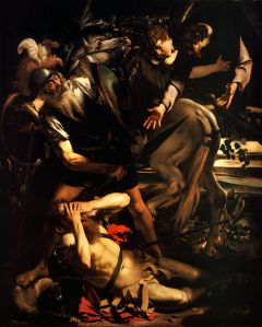Conversión de San Pablo por Caravaggio
