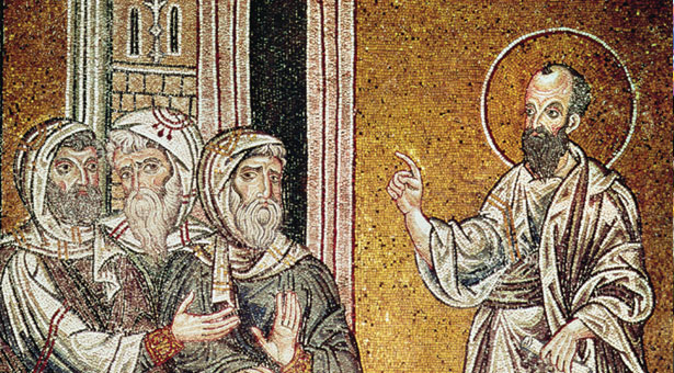 Pablo predica en Damasco