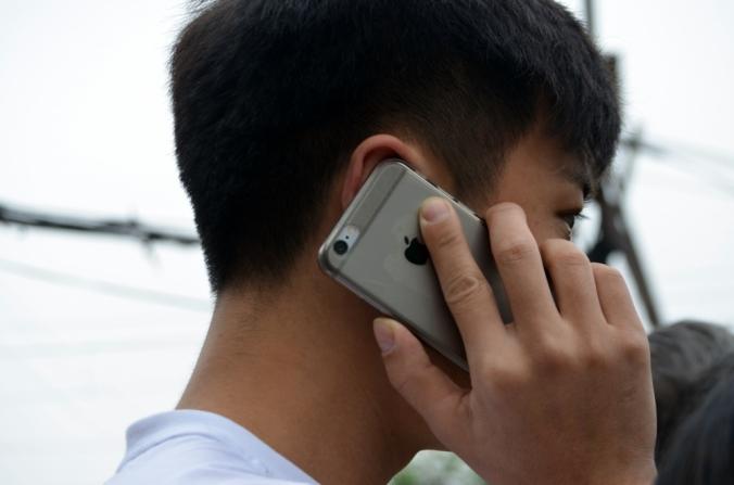 Llamada por teléfono móvil