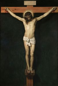 Cristo crucificado -- por Diego Velázquez (1632)
