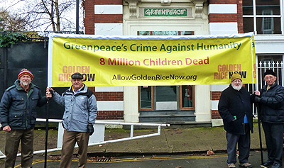 Allow Golden Rice Now - Greenpeace: Crime Against Humanity
