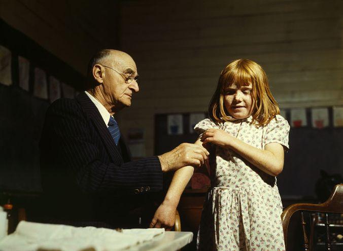 Vacunación contra la tifoidea