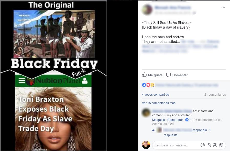 The original black Friday