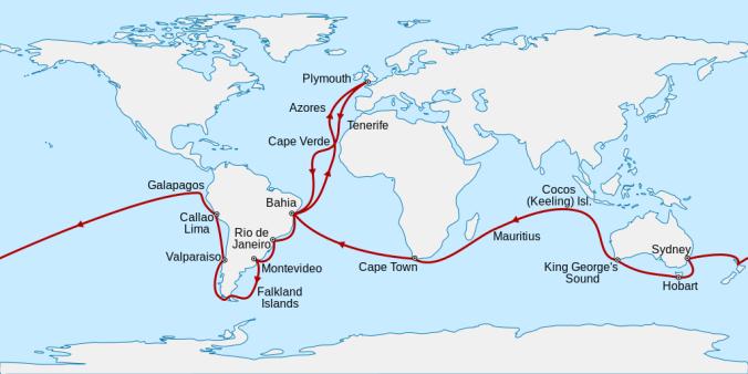 Viaje del HMS Beagle