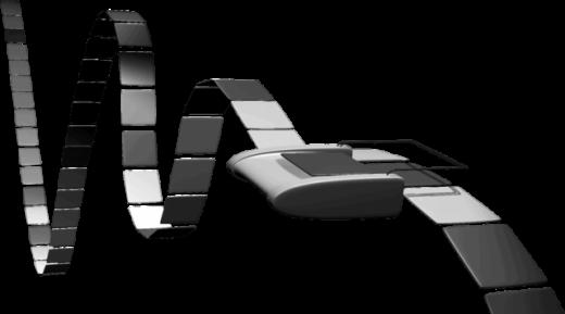 Ilustración de una máquina de Turing