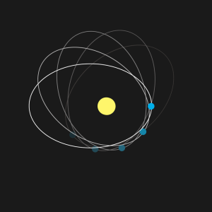 Corrimiento del perihelio de Mercurio