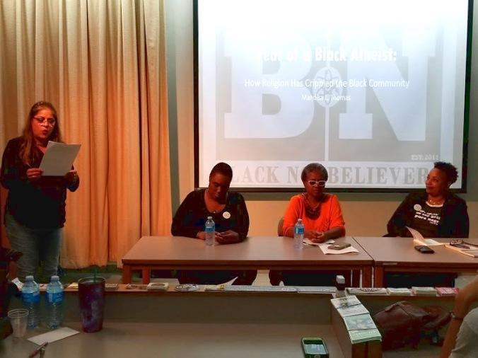 Panel sobre Afroateísmo
