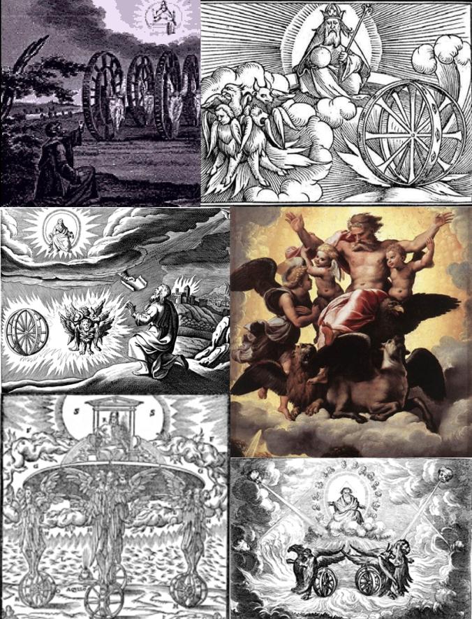Representaciones de la visión de Ezequiel