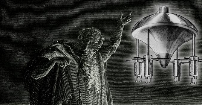 Ezekiel y su visión del ovni