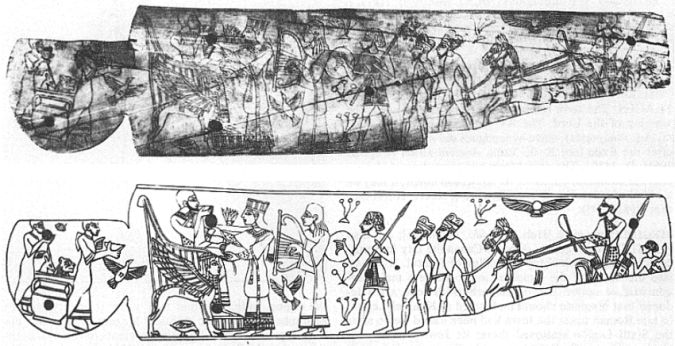 Placa de marfil de Megido