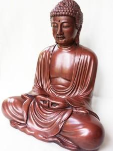 Buda en posición de loto.