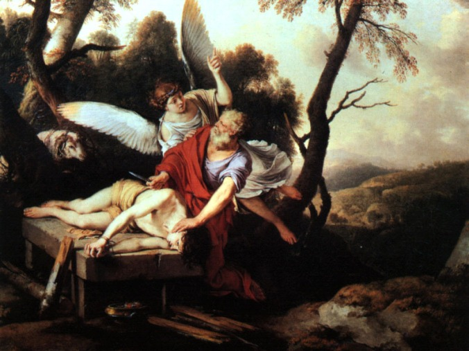 Abraham sacrificando a Isaac