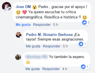 Conversación en Facebook
