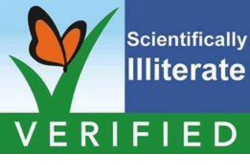 Scientifically Illiterate Verified