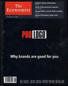 Cubierta de The Economist, Pro Logo