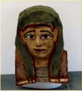 Máscara egipcia - Evangelio de Marcos