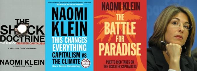 Naomi Klein y sus obras