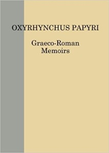 Cubierta del volumen 83 de Oxyryncus Papiri.