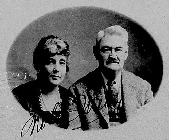 Olga Mendez Monsanto y John Francis Queeny.