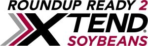 Logotipo de la soya transgénica Roundup Ready 2 Xtend