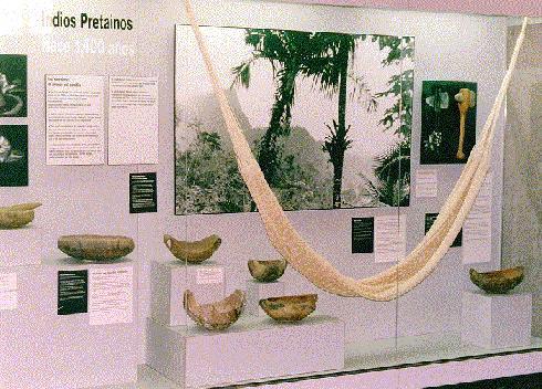 Artefactos y utensilios encontrados en Tibes