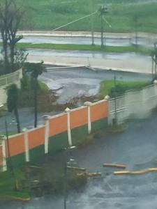 Fotografía de devastación de huracán María.