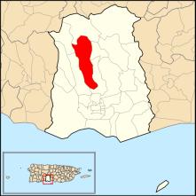 Barrio de Tibes, en Ponce