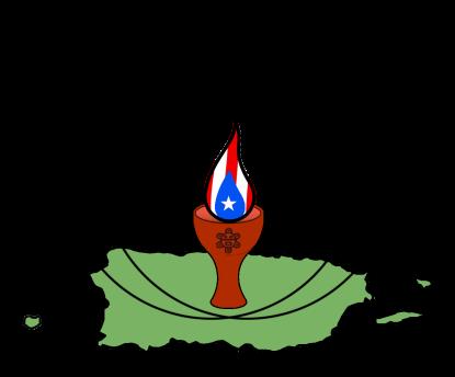 Símbolo local del Unitarismo Universalista puertorriqueño.