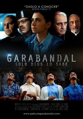Afiche de la película Garabandal. Solo Dios lo sabe