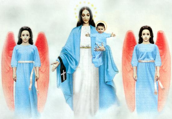 La aparición de la Virgen en Garabandal