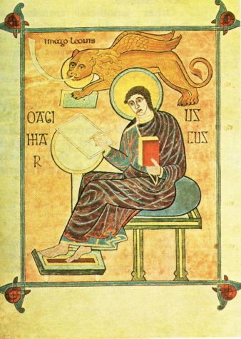 Representación del evangelista Marcos