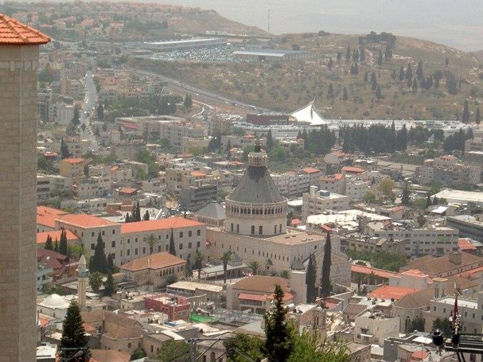 Vista panorámica de Nazaret