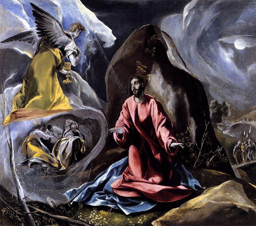 La Agonía en el Jardín, de El Greco.