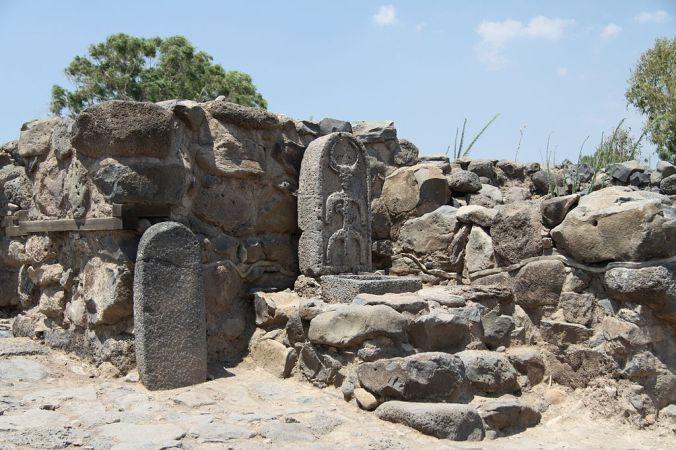 Ruinas de la villa de Betsaida.