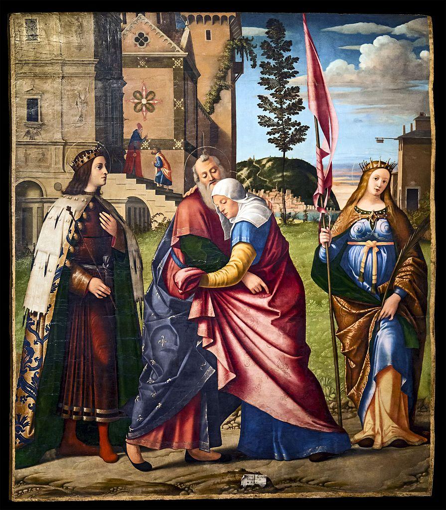 El encuentro de Joaquín y Ana