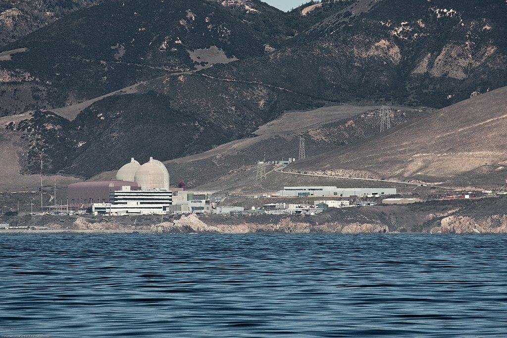 Imagen de la planta nuclear del Cañón Diablo en California.