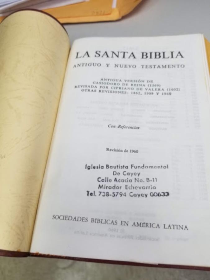 Biblia, Reina-Valera