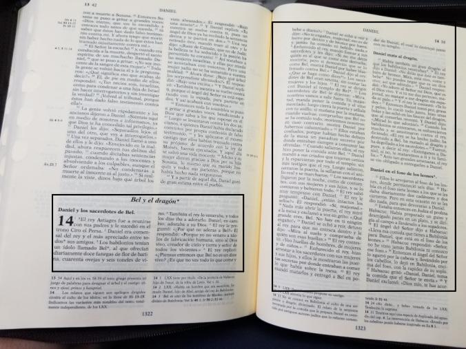 Biblia de Jerusalén - Bel y el dragón