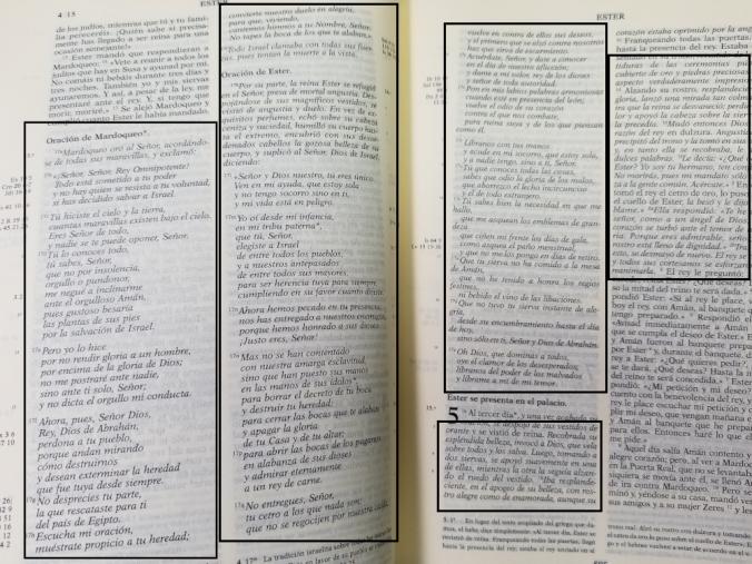 Biblia de Jerusalén - Añadidos a Ester