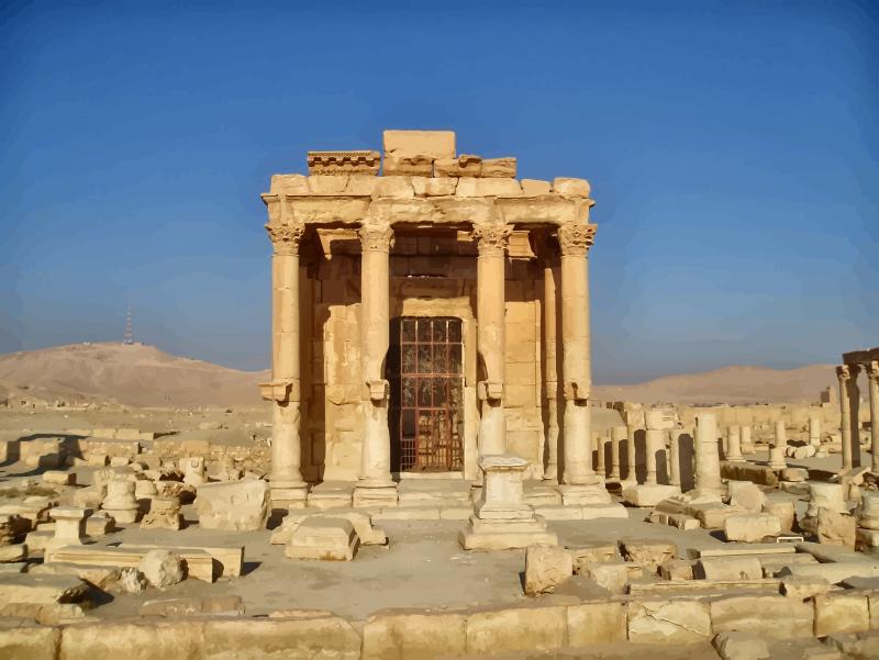 Templo de Baal en Palmira
