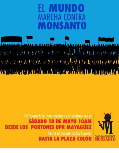 Anuncio de marcha contra Monsanto