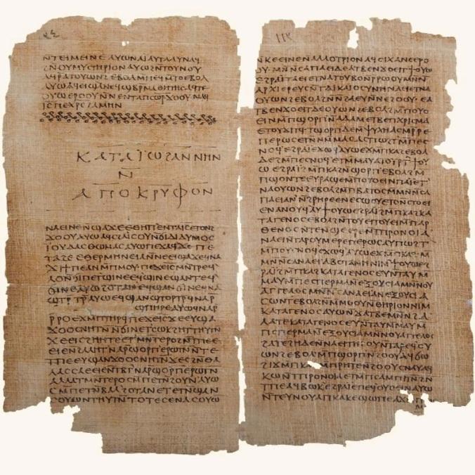 Folios del Apócrifo de Juan