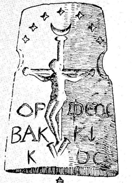 Orfeo crucificado.