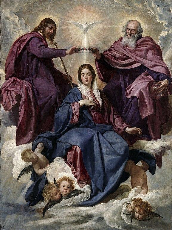 Diego Velázquez - Coronación de la Virgen María