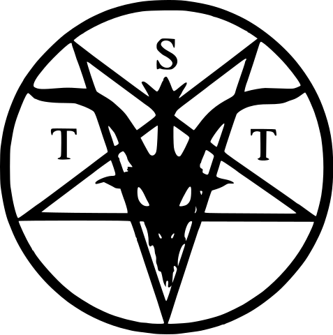 Logotipo de El Templo Satánico