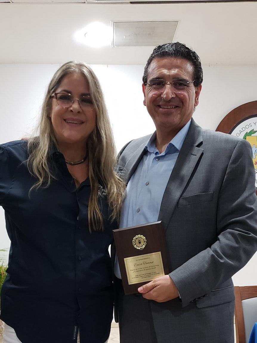 David Tamayo y Eva Quiñones
