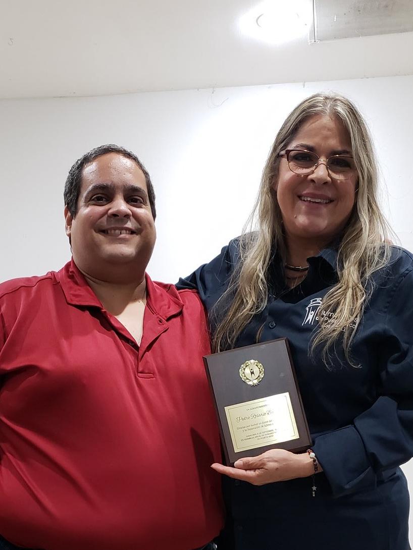 Pedro Rosario Barbosa y Eva Quiñones