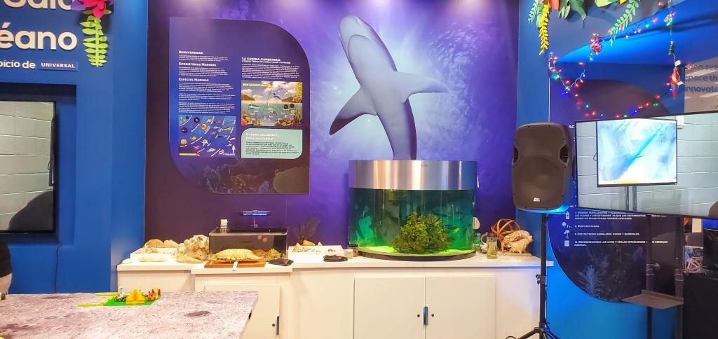 Exposición Oceánica, en el Ecoexploratorio
