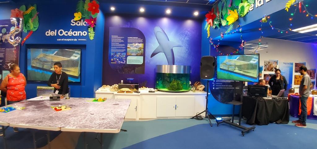 Exposición en Oceánica, el Ecoexploratorio