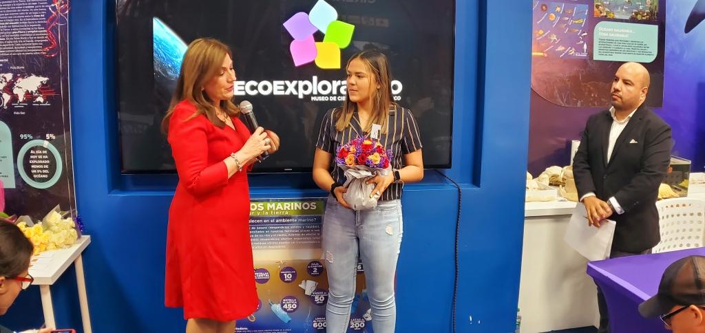 Adriana Díaz, Embajadora Científica del EcoExploratorio